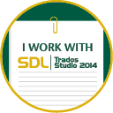 SDL Trados Studio 2014 Badge